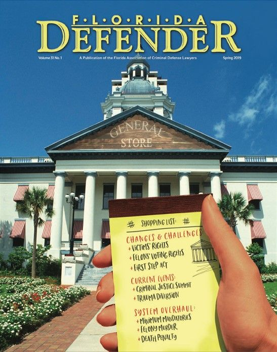 Mitch Stone selected editor of Florida Defender Magazine