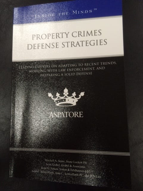 Property Crimes Book - Mitchell Stone