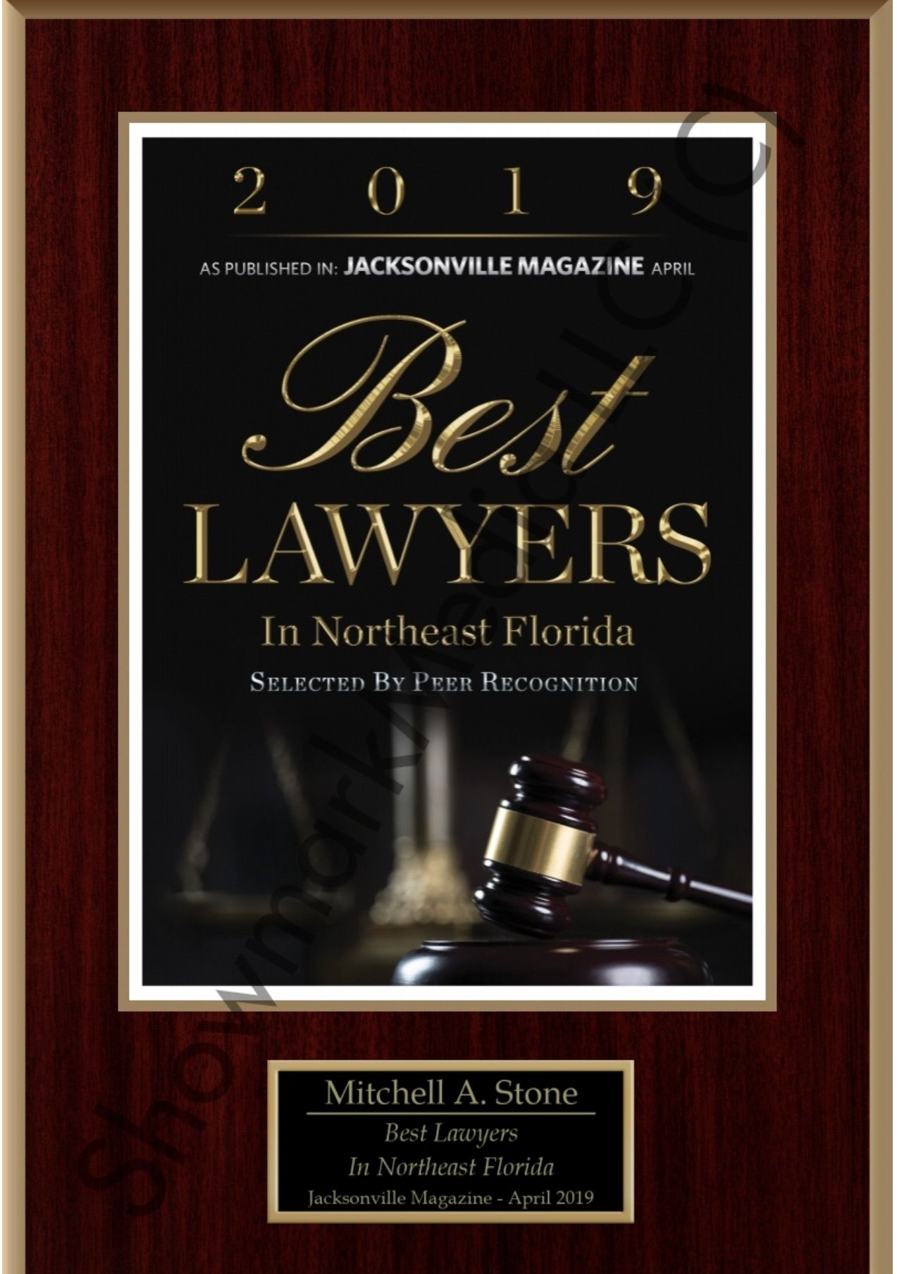 Mitch Stone named Best Lawyers in Northeast Florida 2019